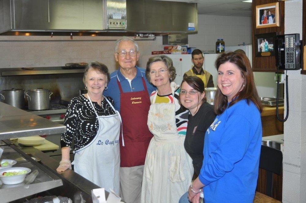 2012: Fundraising - Spaghetti Dinner