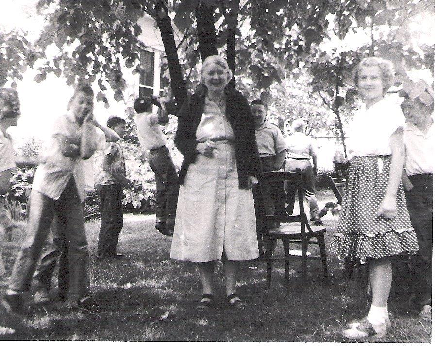~1957: Miss Carter & students