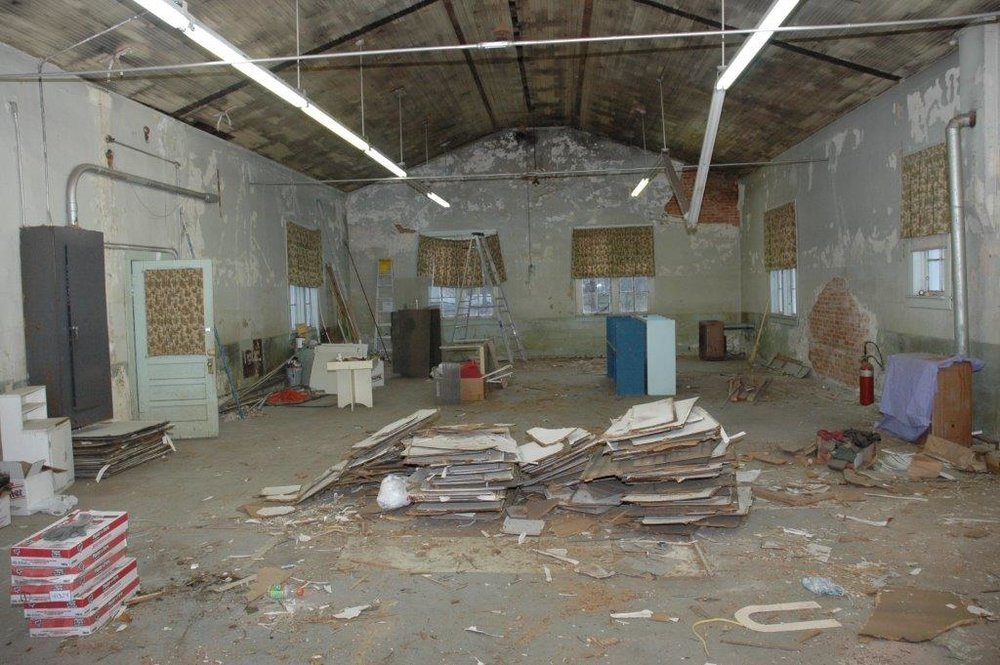 2006: The Lunchroom before restoration