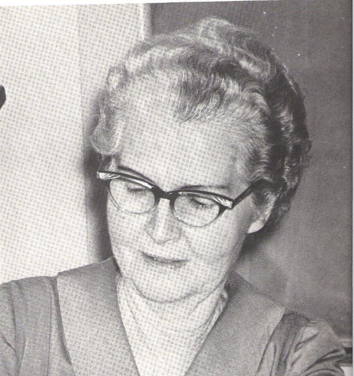 1950s: Miss Snyder