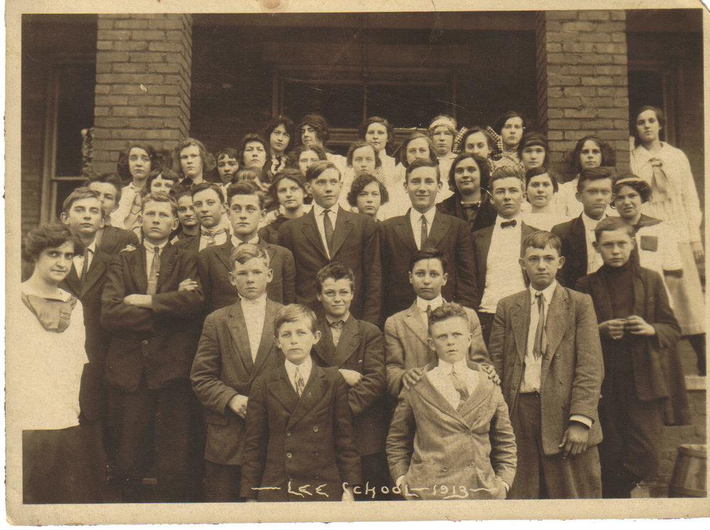 1913 Class Photo