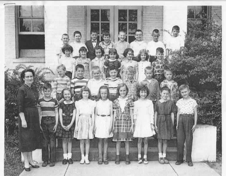 1957: Miss Robbins' 3rd Grade