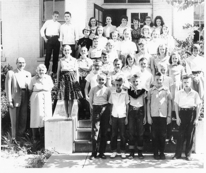 1956: Miss Carter's 6th Grade