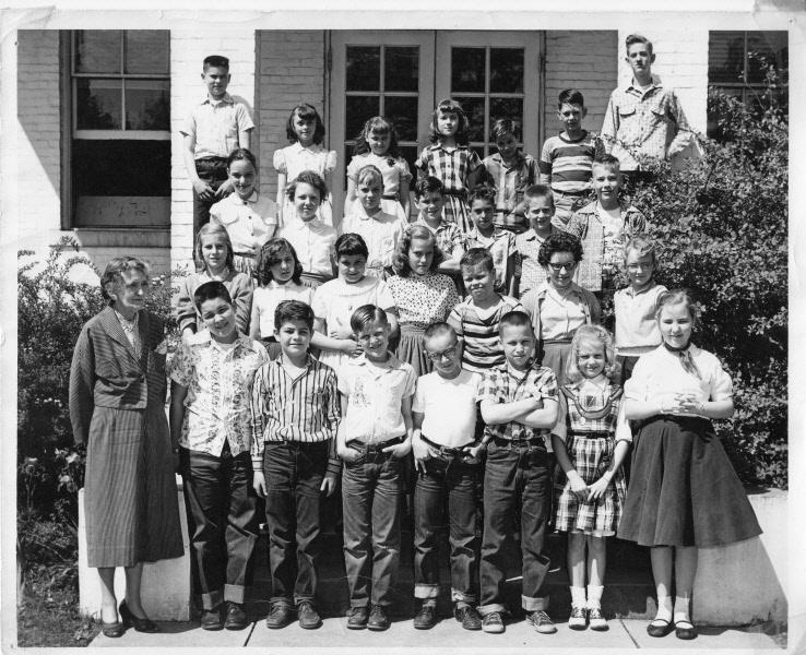 1956-57: Miss Miller's class