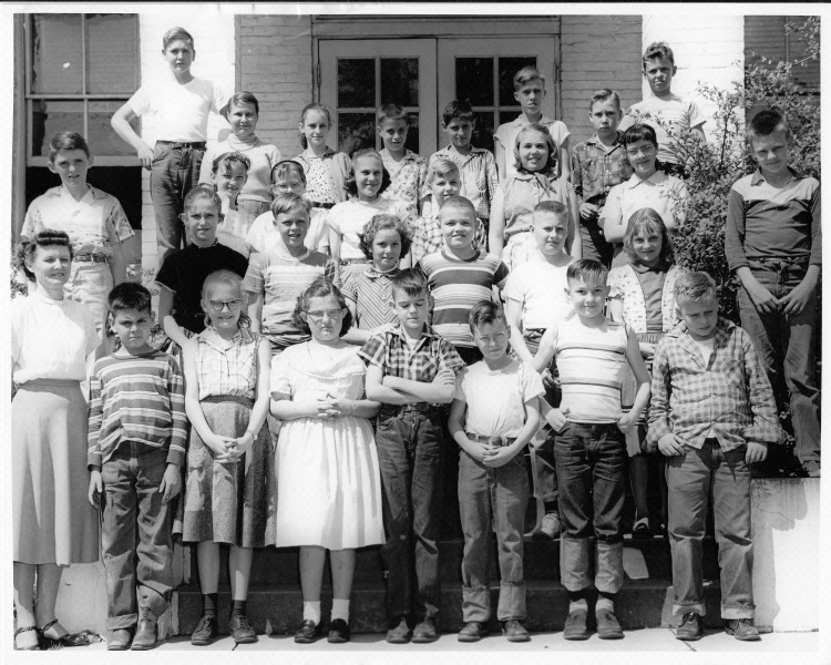 1955: Mrs. Butler's 5th Grade