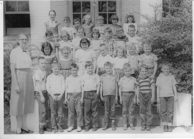 Early 1950s: Miss Dunn's 2nd Grade