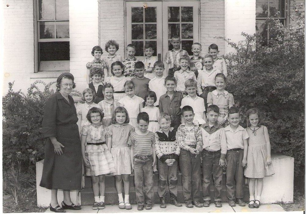 1957: Miss Lampley's 2nd Grade
