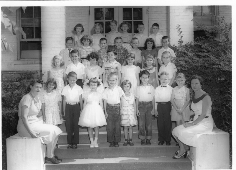 1956: Miss Richardson's 1st Grade