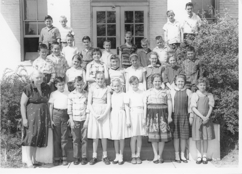 1957: Miss Carter's 6th Grade