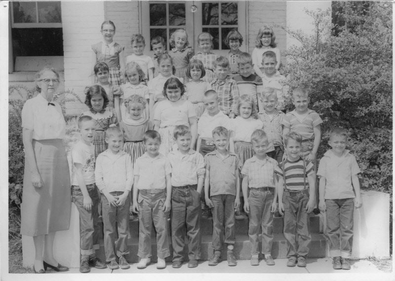 1956: Miss Dunn's 2nd Grade