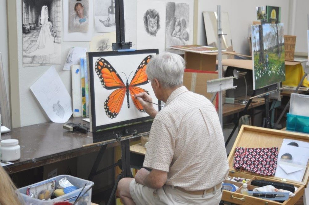 Artists in Action: Ken Alexander