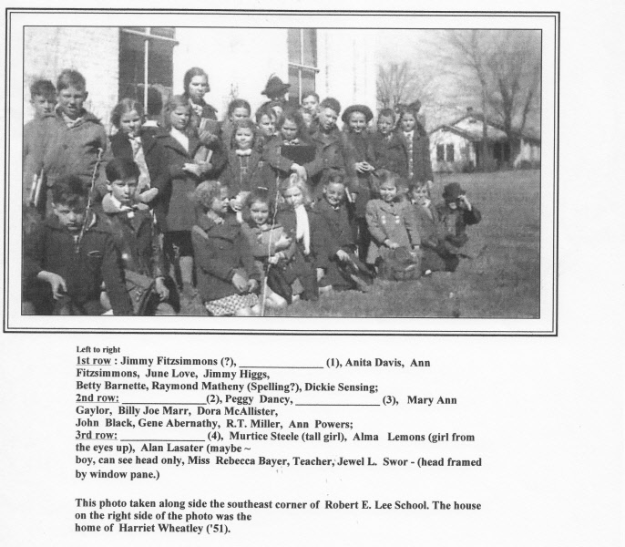 1937-38: Miss Bayer's 2nd Grade
