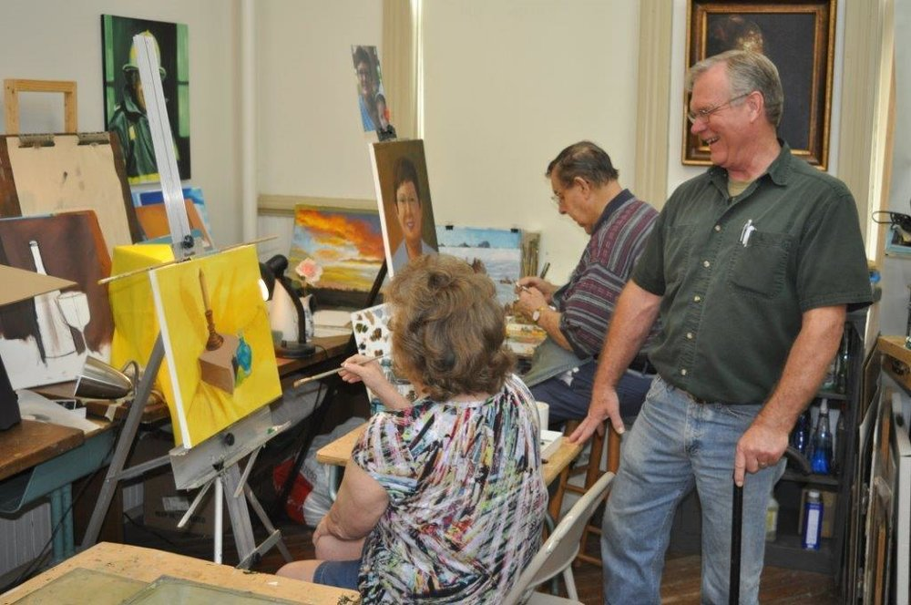 Gene Snowden's Art Classes