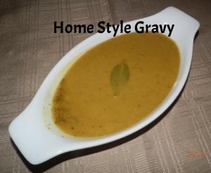 Home Style Gravy