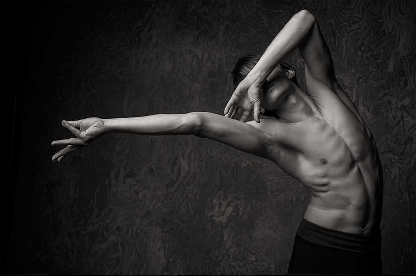 Daniil Simkin, Principal Dancer with ABT, dance photos by NYC Dance Project