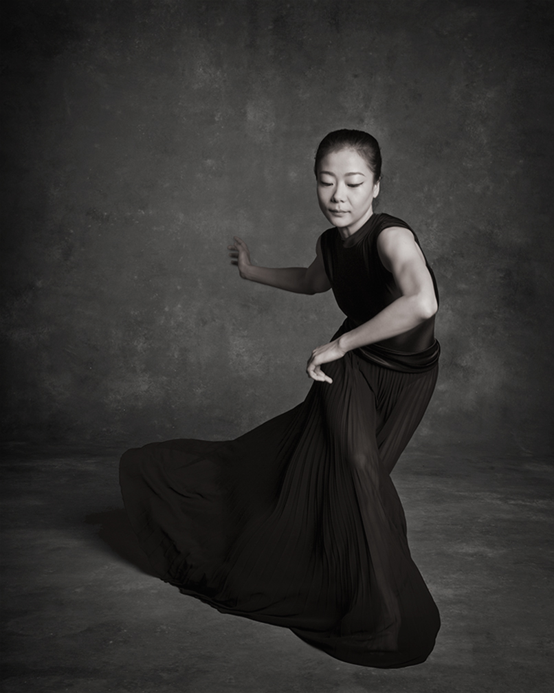 Ying Xin from the Martha Graham Dance Company, dance photos by NYC Dance Project