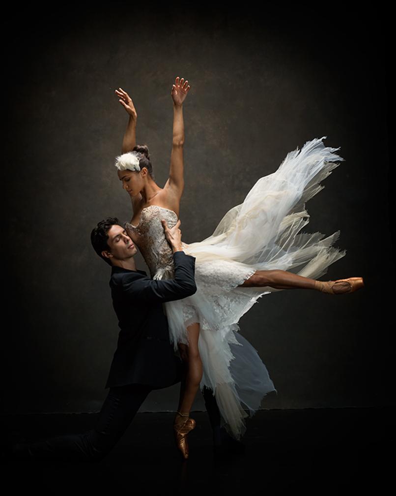 Misty Copeland and Alexandre Hammoudi