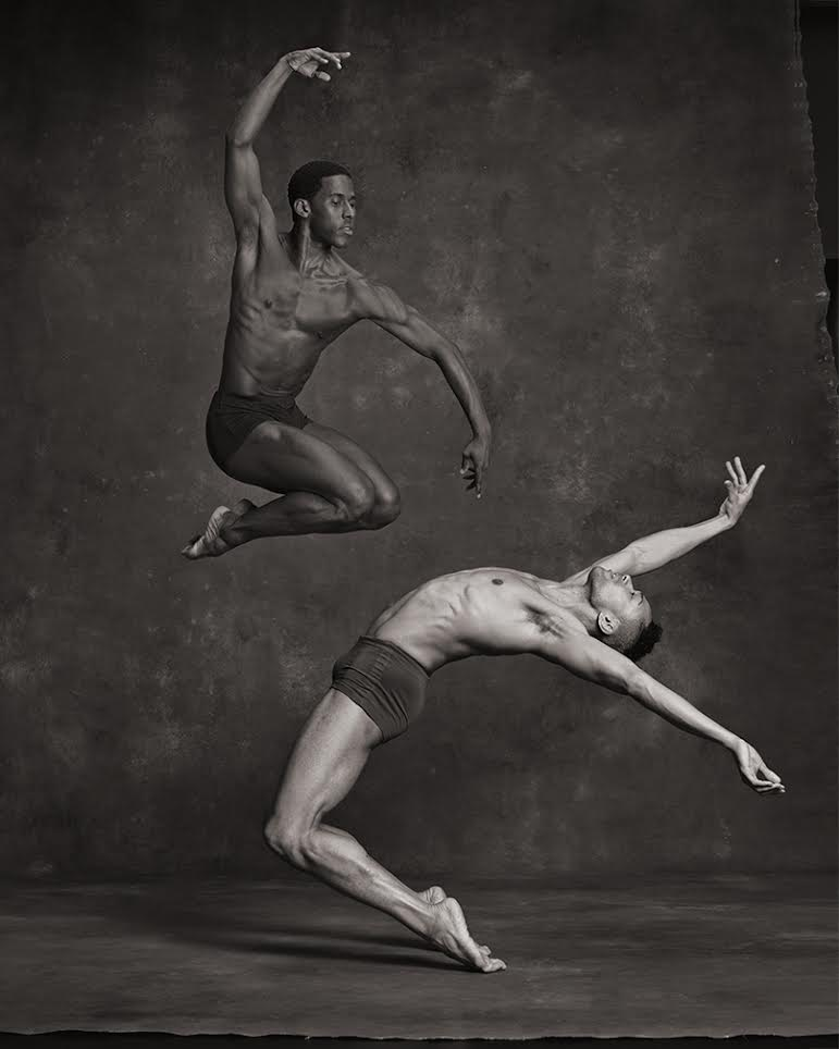 Lloyd Knight and Abdiel Cedric Jacobsen from the Martha Graham Dance Company