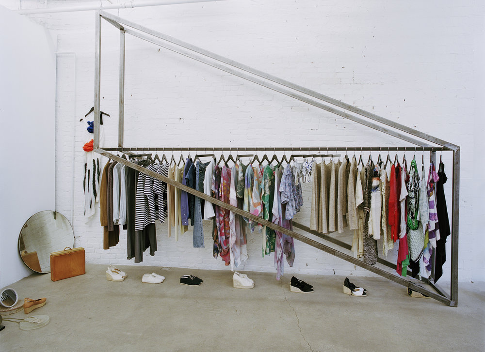 Maryam Nasir Zadeh store clothing rack