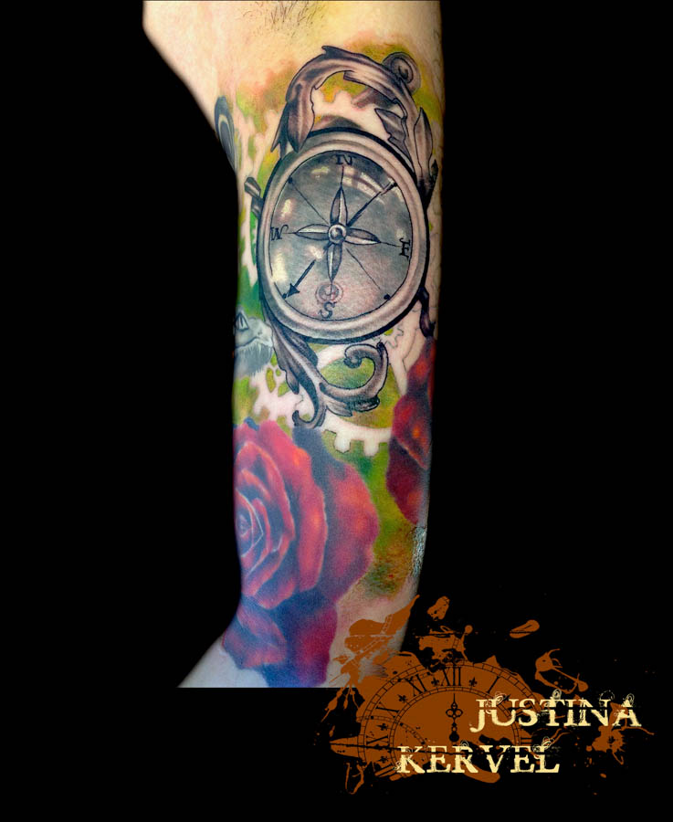 compass and rose justina kervel.jpg