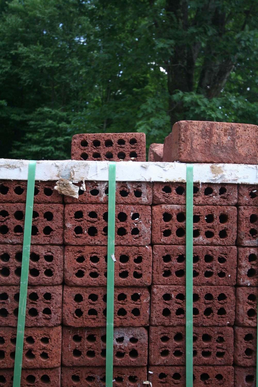 Material  -  4x8 modular bricks