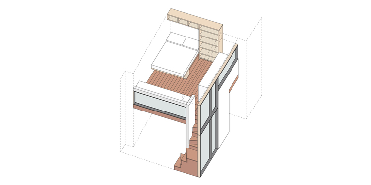 Loft Axonometric