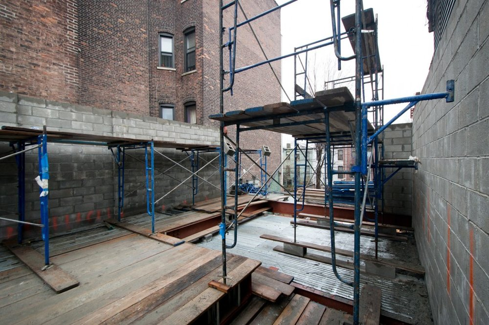 Temporary Scaffolding