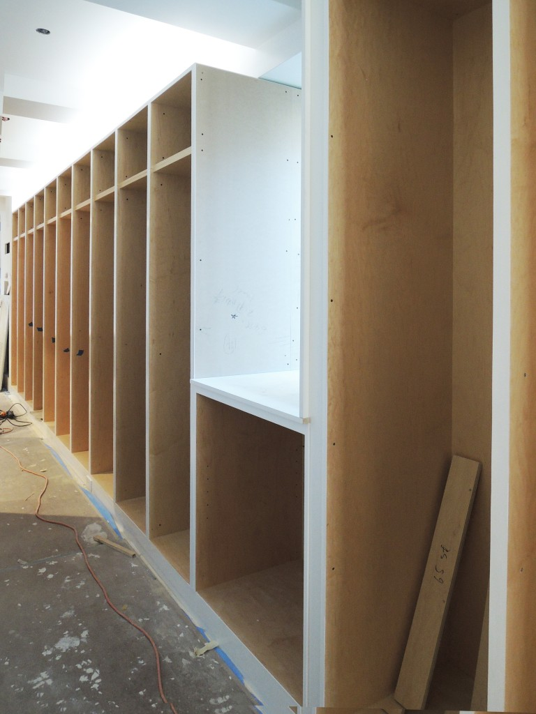 Millwork for cabinets