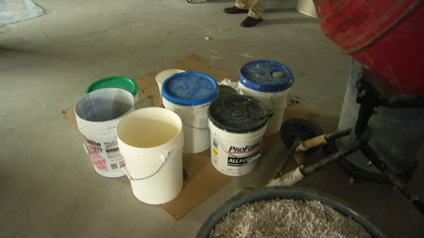 Step 3  -  Epoxy Mixes