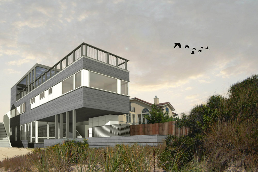 Res4 resolution 4 architecture long beach cottage for Prefab beach cottage