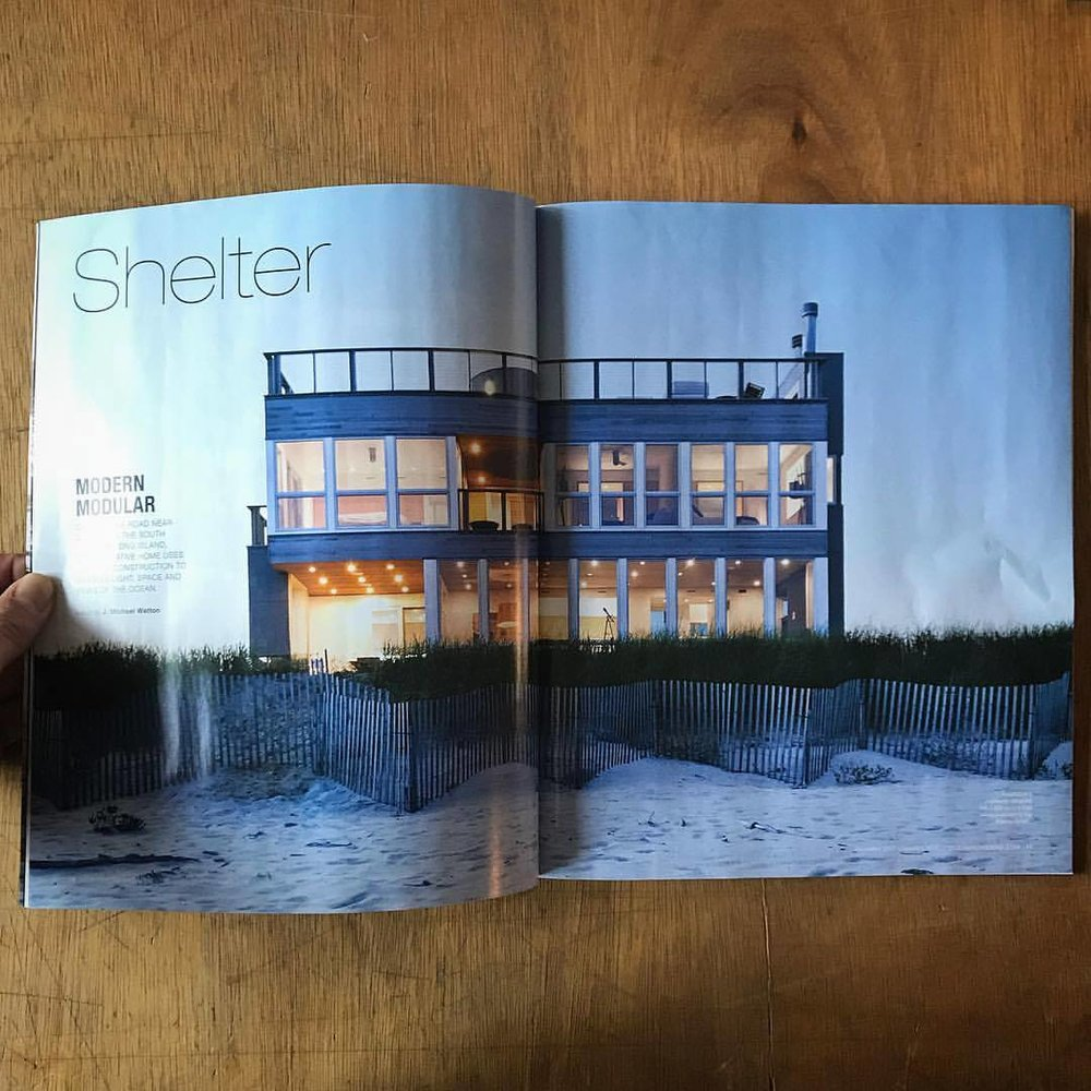 "Ocean Home Magazine , December-January 2018 Issue, ""Modern Modular"""