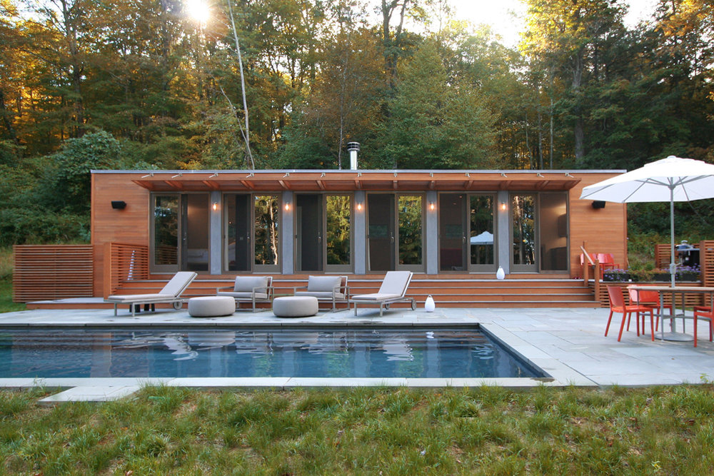 Connecticut Pool House