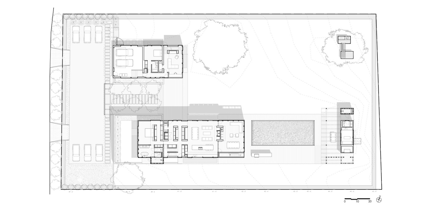 Site Plan & First Floor Plan