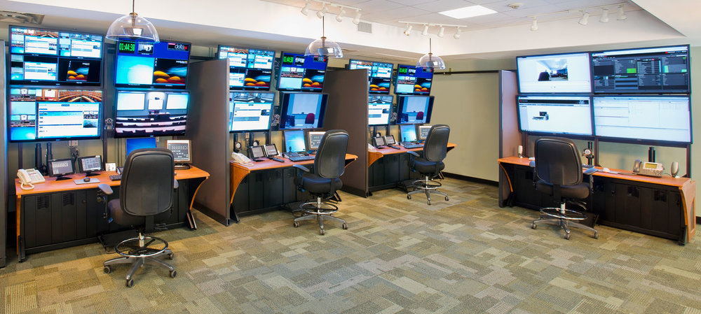 Distance Learning Center Control Room