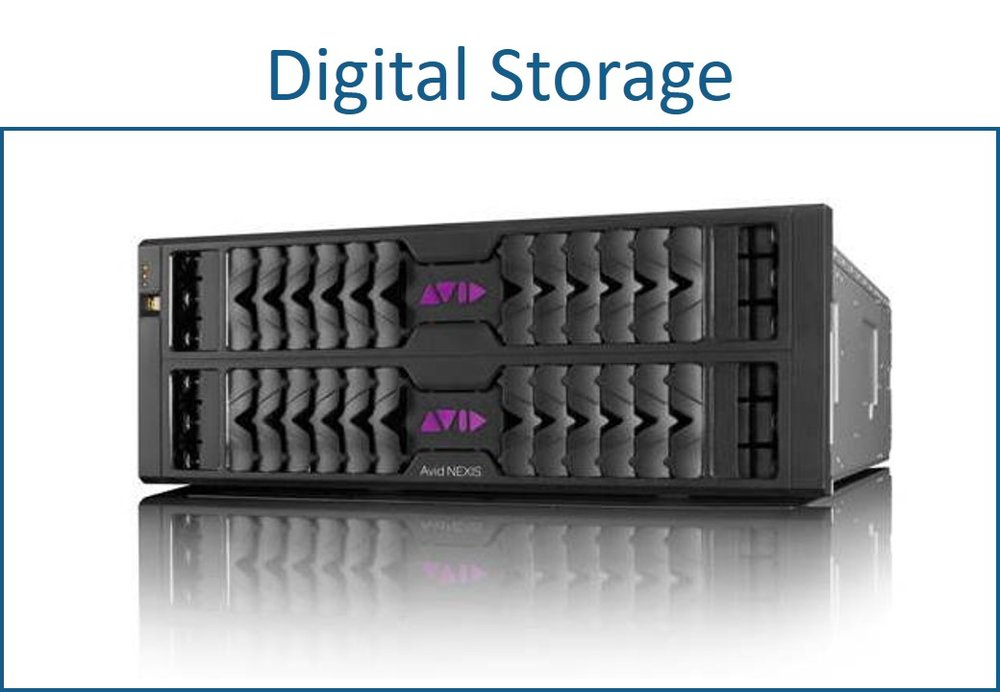 Digital storage for AV