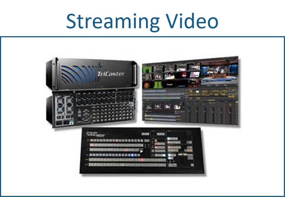 Streaming video equipment