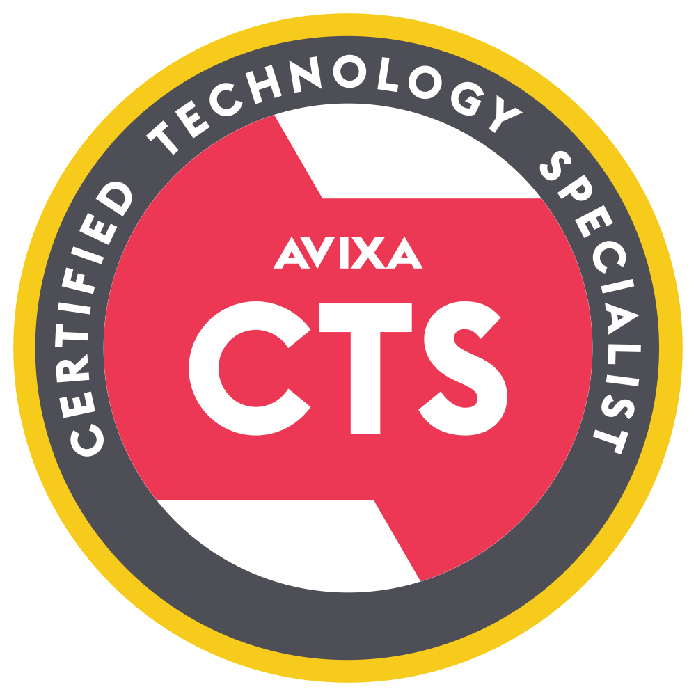 Infocomm - Certified Technology Specialist Logo