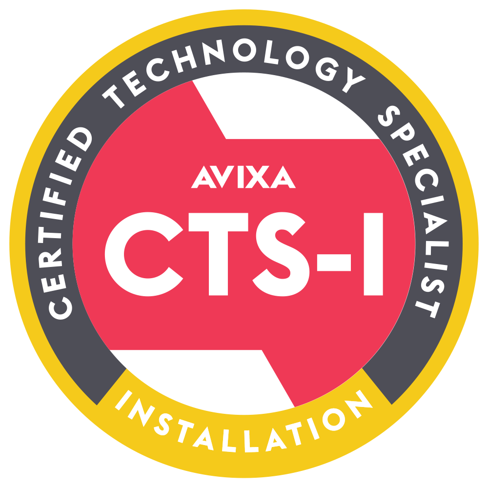 Infocomm - Certified Technology Specialist / Installation Logo