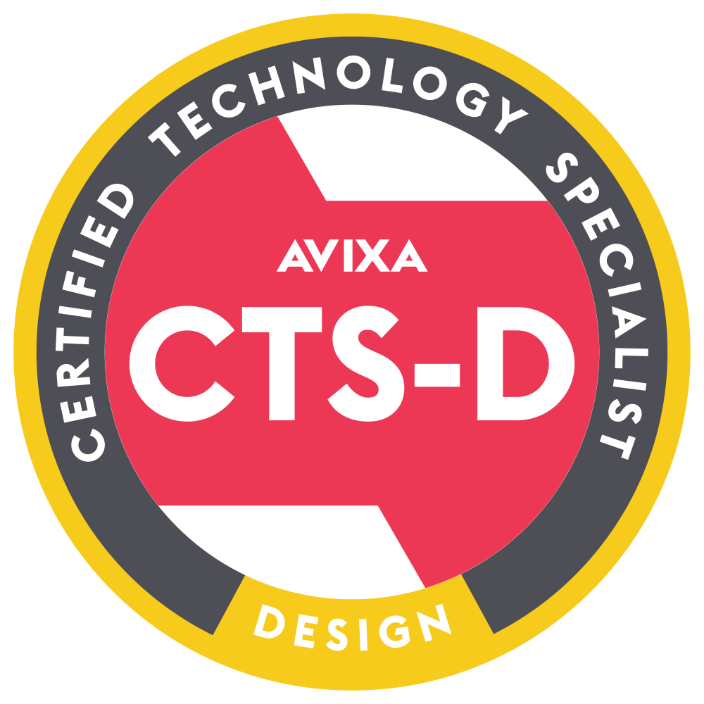 Infocomm - Certified Technology Specialist / Design Logo