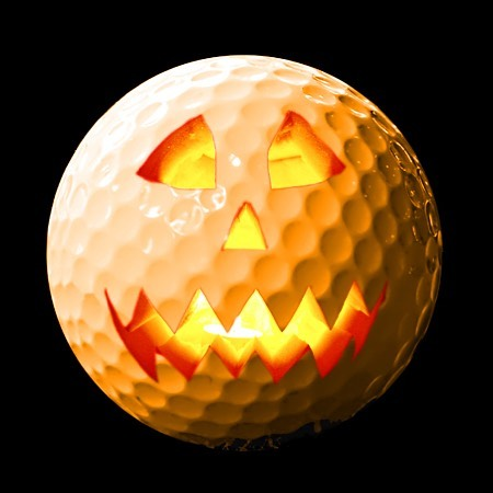 Gooly golf ball ready to PARTee... #golfstagram  #golf  #youthgolf #golfball  #halloween  #juniorgolf  #littlerock #fullswinggolf  #fullswinggolfacademy  #fsga