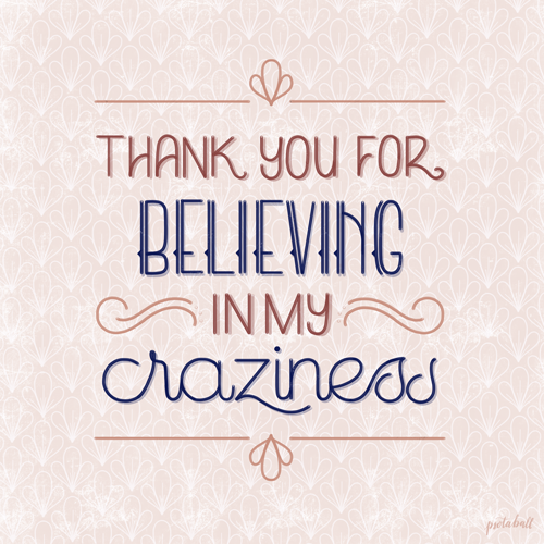 Week 40 - Fill In The Thank YouGuest assignment by Chantal Psota Ball