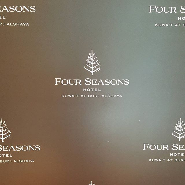 Big things happening tonight at the grand opening of the @fourseasons hotel in #kuwait! #dronelightshow #drone #uav