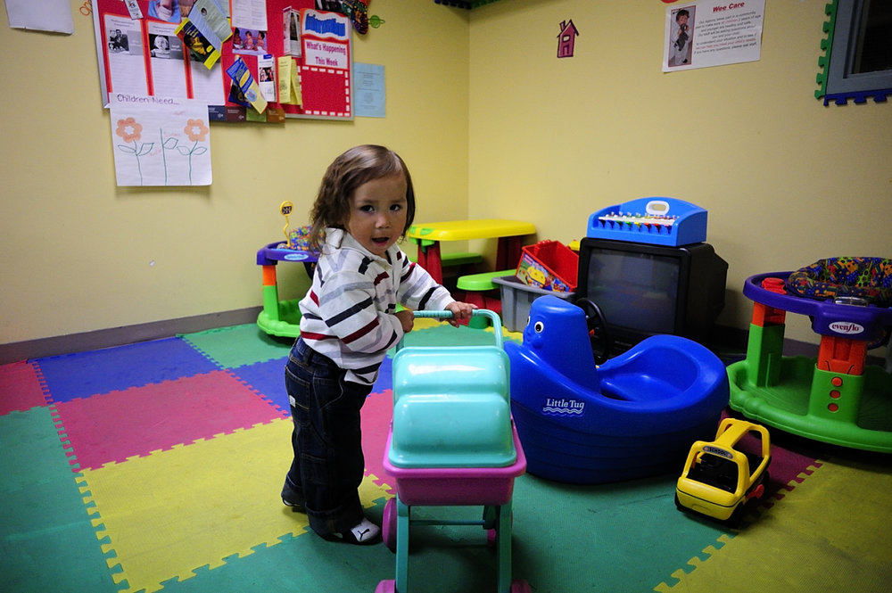 Teach & Play Program Participant