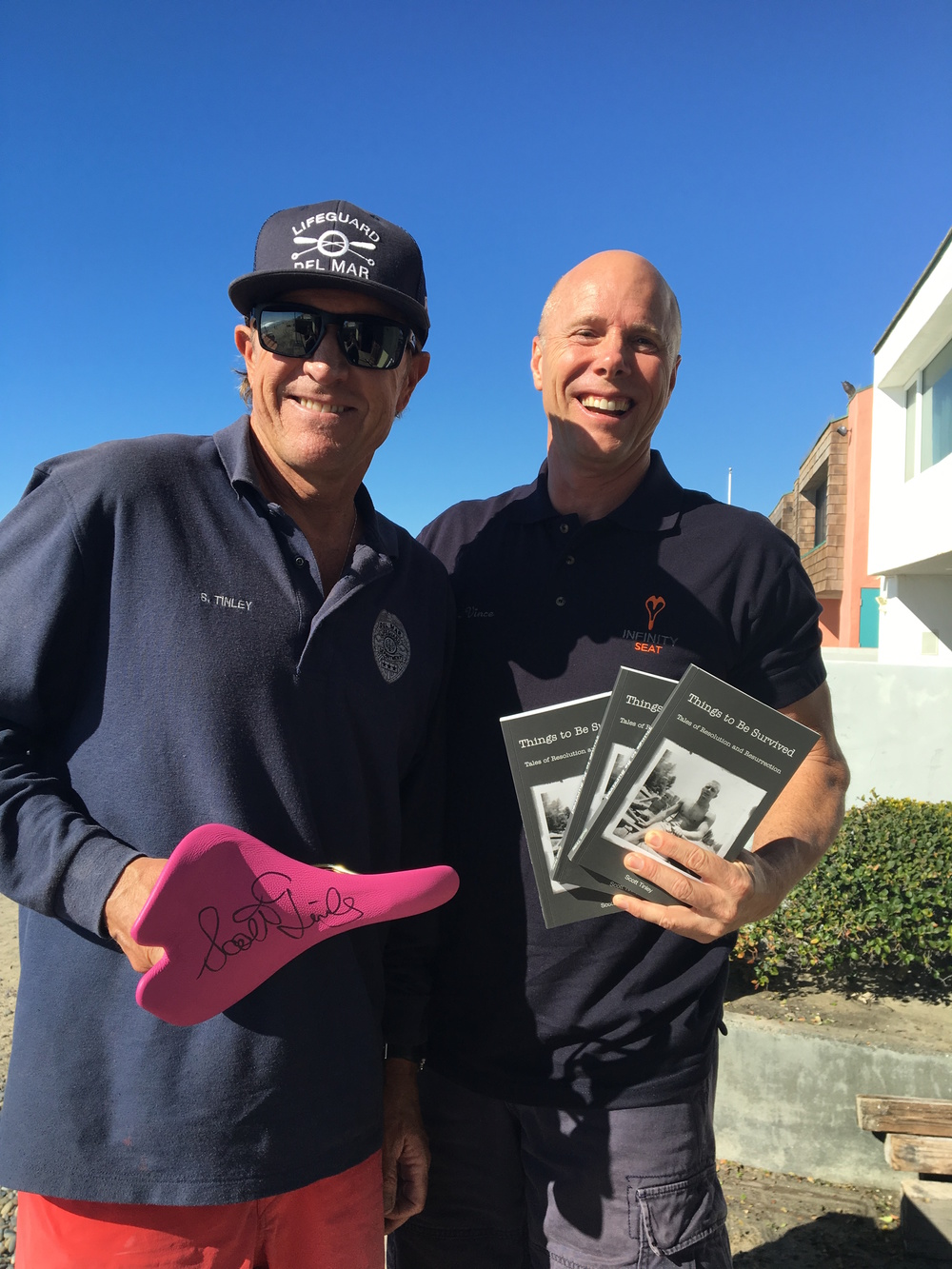 Scott Tinley and Dr. Vince Marcel