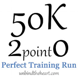Sometimes running is hard, but ultimately that makes for perfect training. We train so we can be prepared for the adversities that come during the race. -