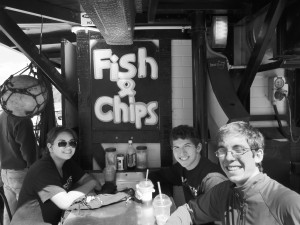 The best fish 'n chips in the world, they say.