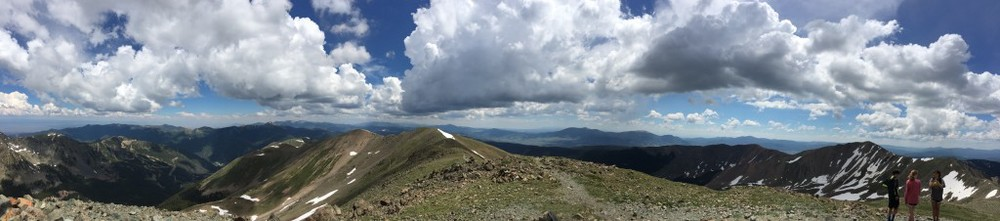 The panorama from Wheeler's summit.