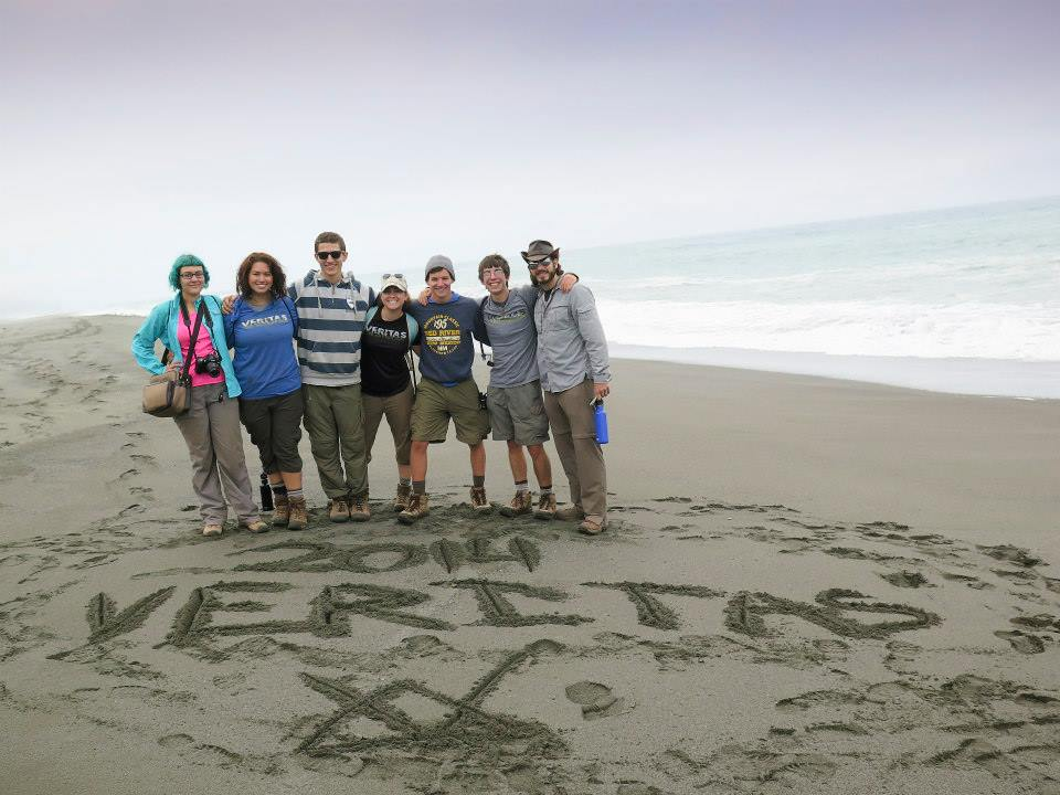 Veritas 2014 at the Pacific Ocean!
