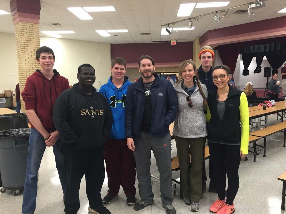 The Veritas Dallas Volunteer Crew 12.30.15