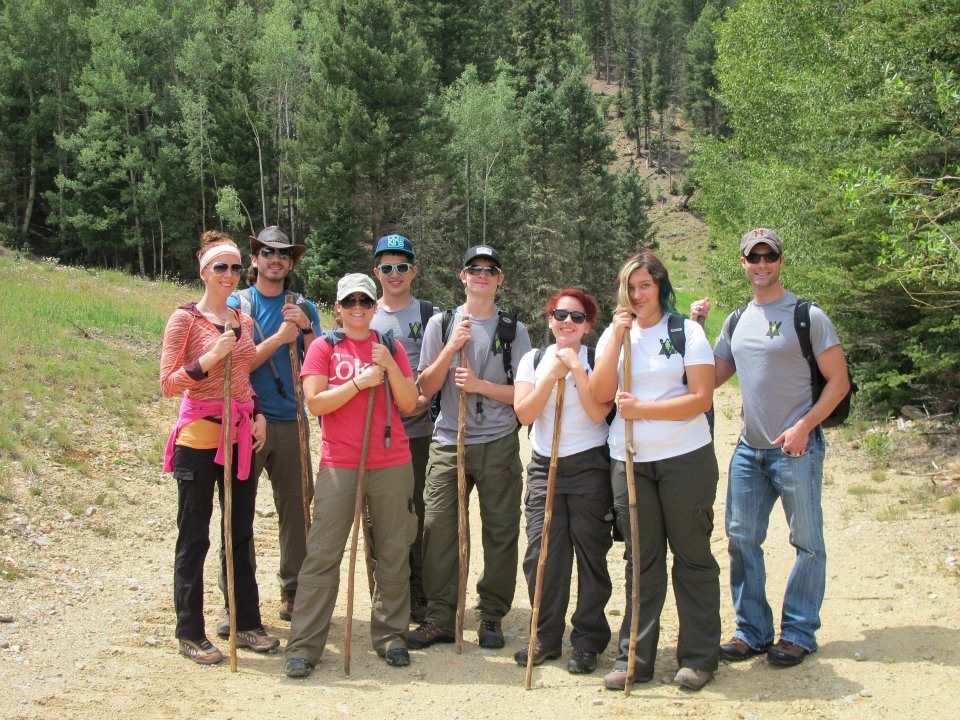 Seekers and Directors in Red River, NM :: Forging Trip 2012